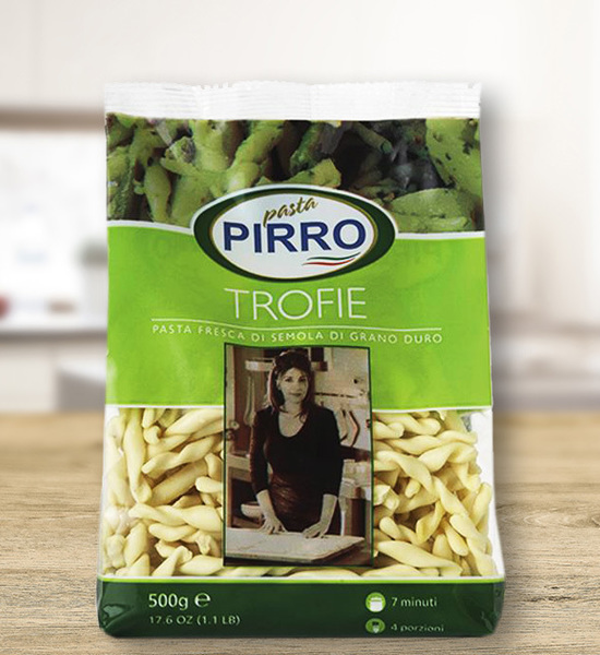 Trofie Semola, Pasta Pirro