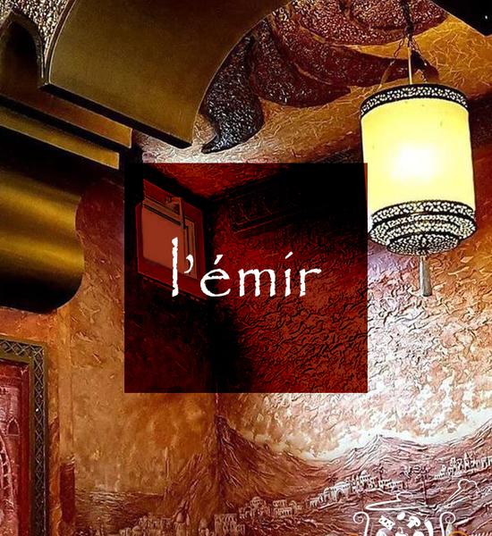 Restaurant L'Émir à Sint-Pieters-Leeuw
